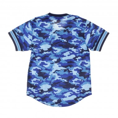 JERSEY NBA CAMO MESH V-NECK TEAM COLOUR GOLWAR