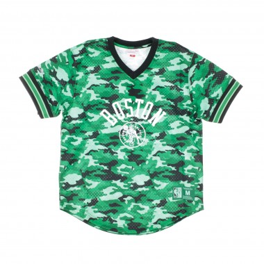 JERSEY NBA CAMO MESH V-NECK TEAM COLOUR BOSCEL