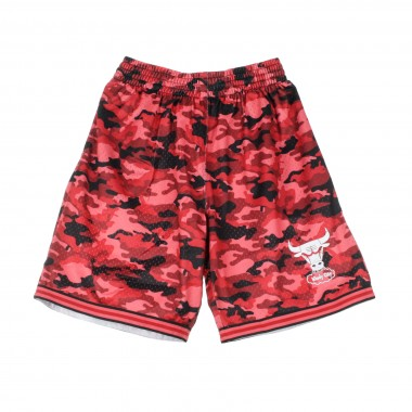PANTALONCINO TIPO BASKET NBA CAMO MESH TEAM COLOUR SHORT CHIBUL