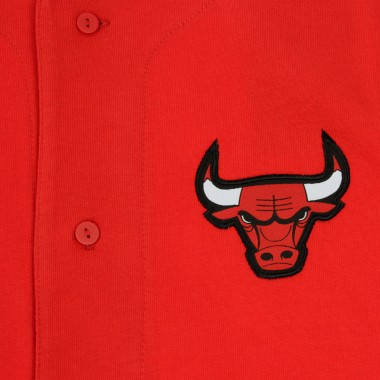 JERSEY NBA LOGO BUTTON UP CHIBUL