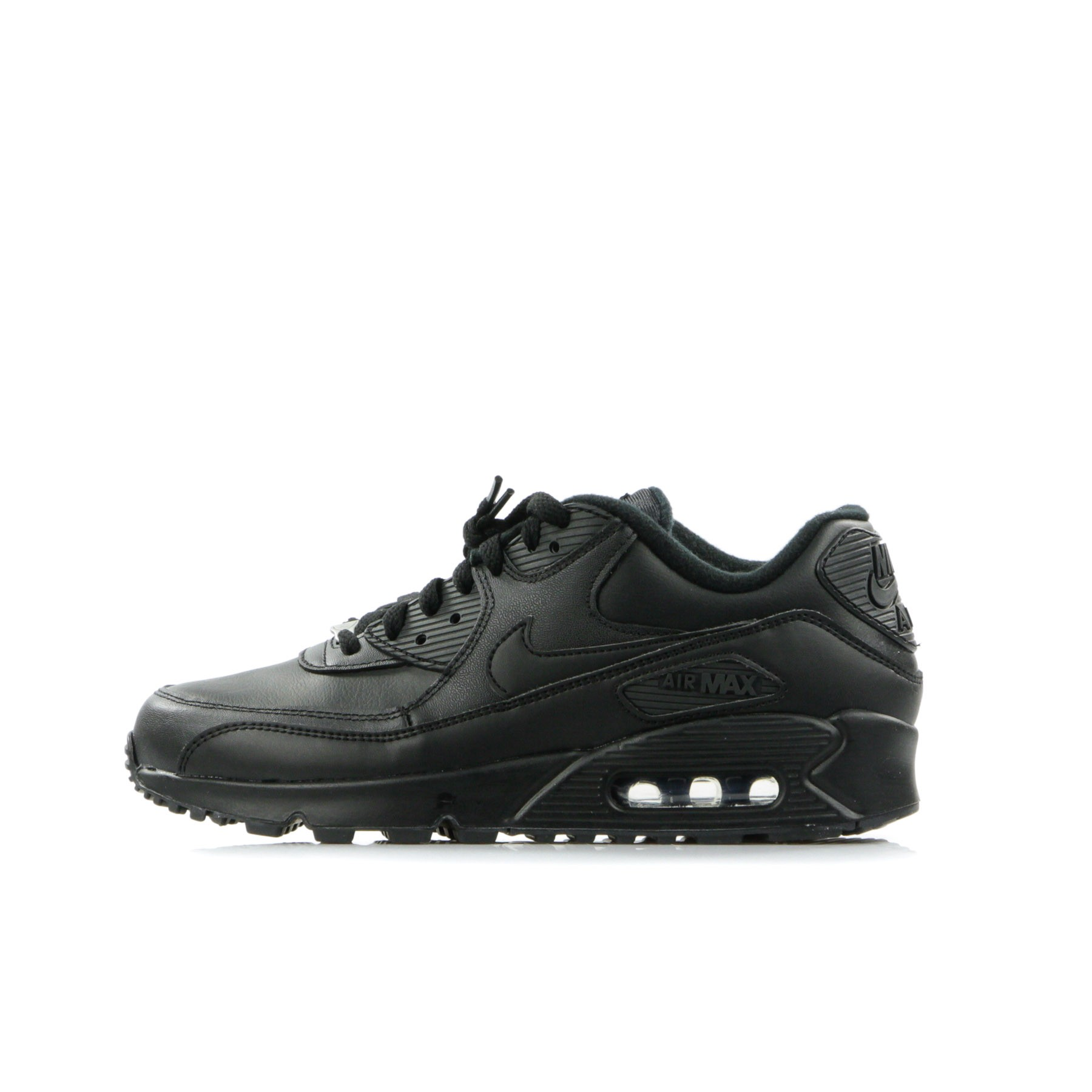 Nike Air Max 90 Leather BlackBlack 302519 001