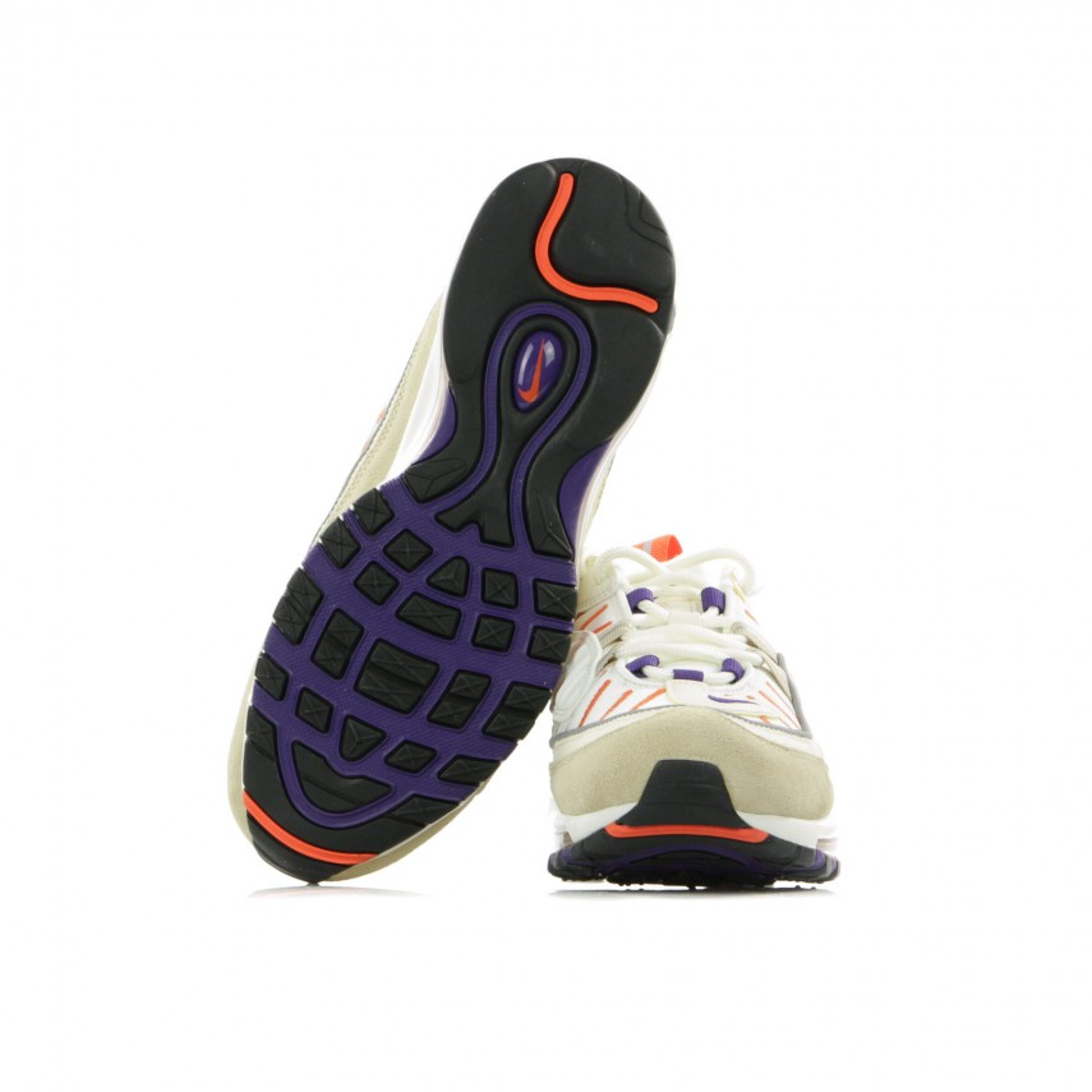 Nike Air Max 98 Sail Court Purple light Cream desert Ore in