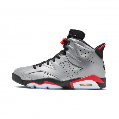 HIGH SHOE AIR JORDAN 6 RETRO SP REFLECTIVE SILVER