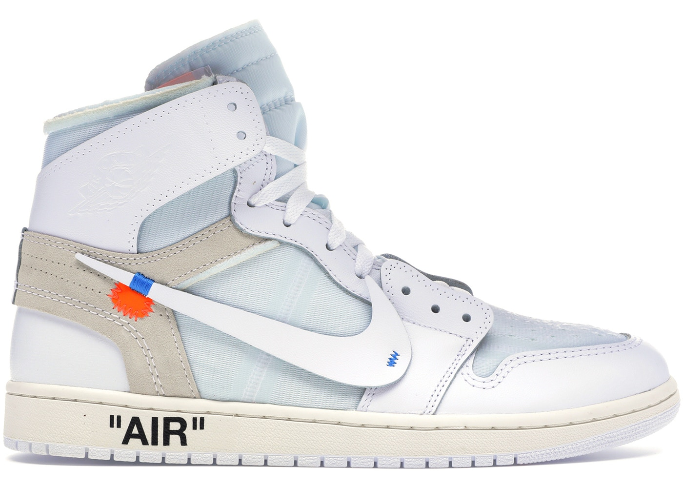"Off-White x Air Jordan 1 High ""White"""