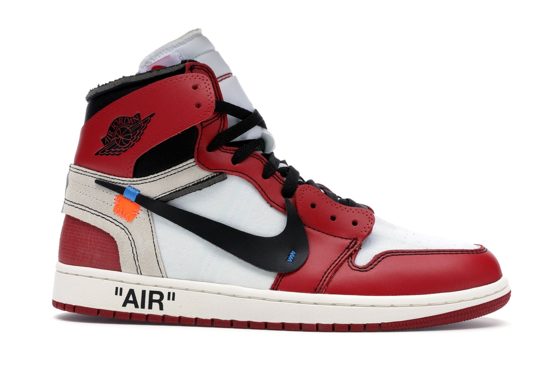"Off-White Air Jordan 1 ""Chicago"""