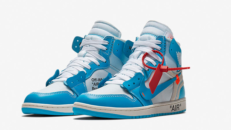 "Off-White x Air Jordan 1 High ""UNC"""