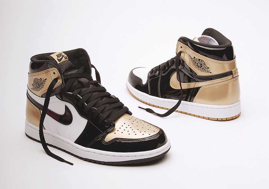 "Union LA x Air Jordan 1 ""Gold Toe Top-3"""