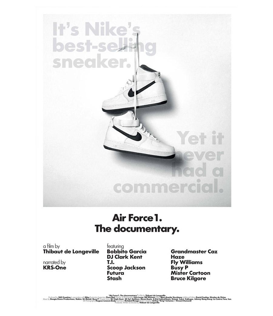 Documentario con Krs-One su Nike Air Force One