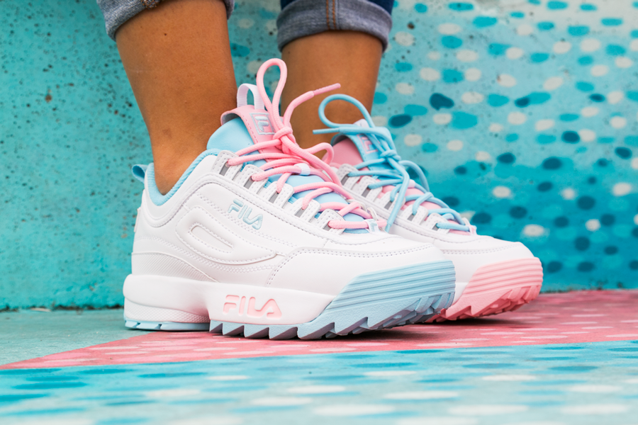 recognized brands biggest discount detailed look Disruptor Fila x Atipici: a project comes to life