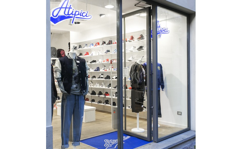 New opening ! Atipici Shop now in Alessandria - Italy .