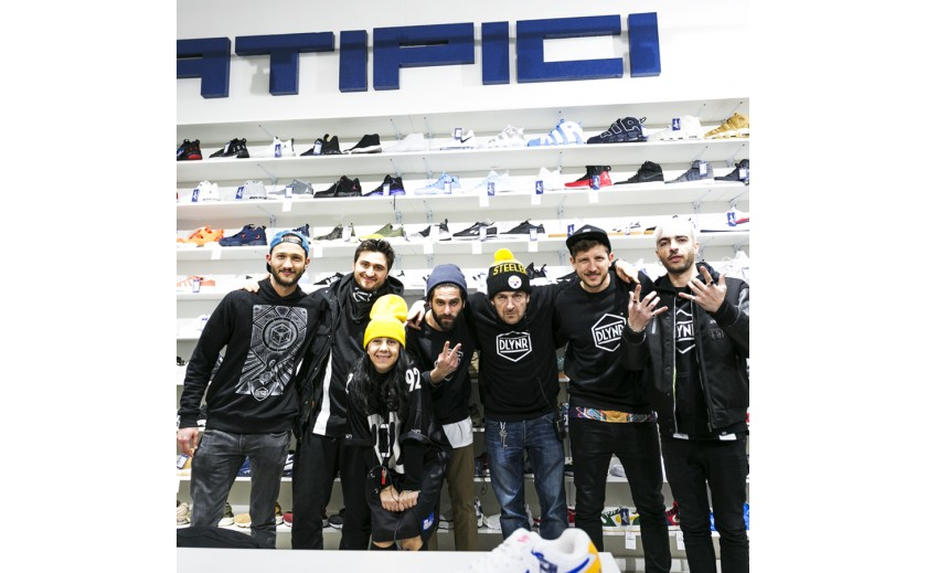 Meet Dolly Noire team @ Atipici Shop Torino event