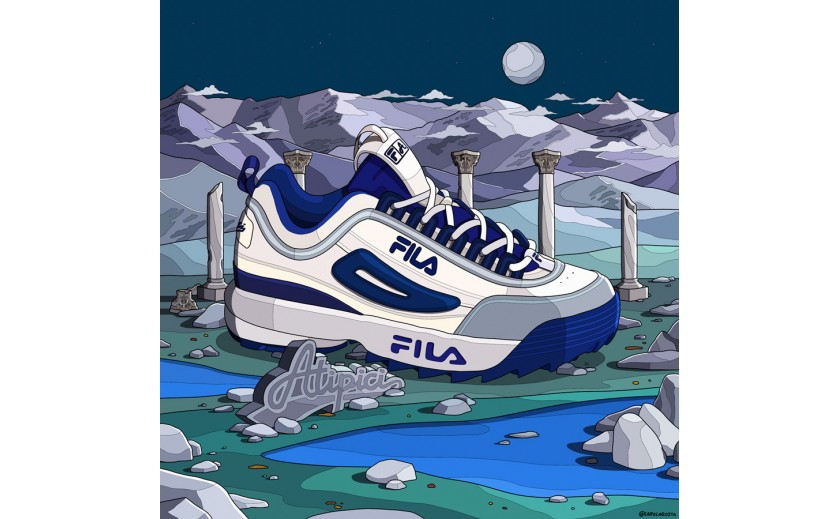 Disruptor Fila x Atipici: a project comes to life
